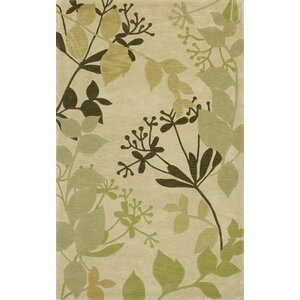 Bradshaw Ivory Rainforest Area Rug