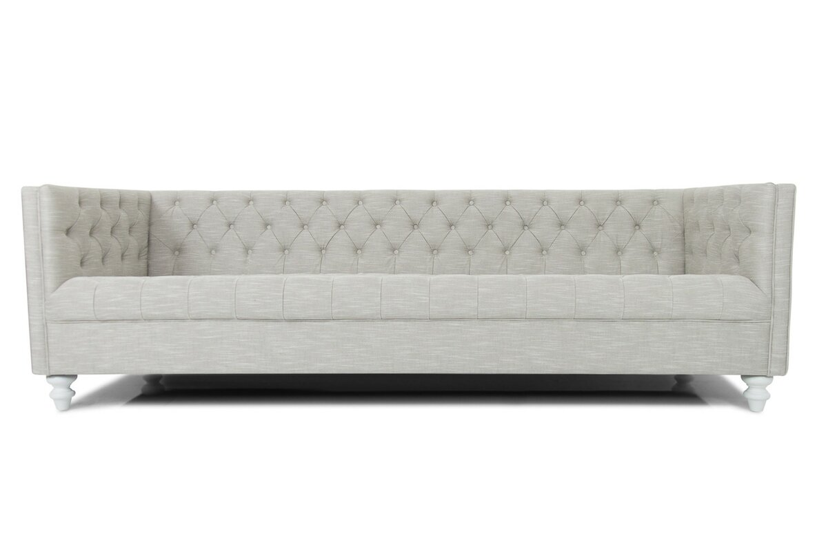 White chesterfield chair - Double O7 Chesterfield Sofa