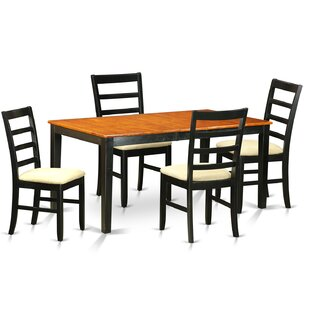 Cleobury 5 Piece Dining Set Best Design