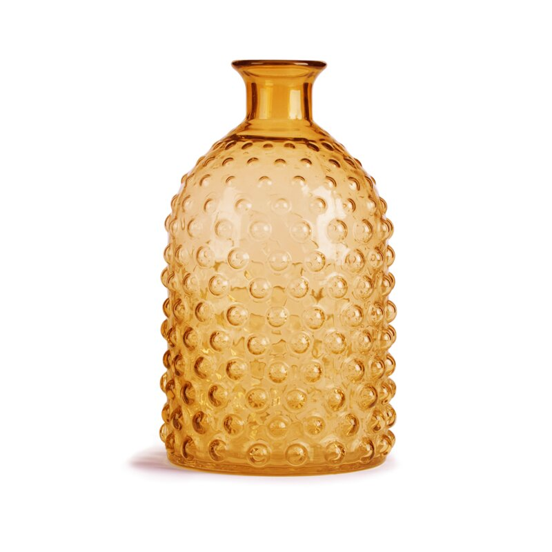 Glitzhome Hobnail Tabletop Glass Vase Wayfair
