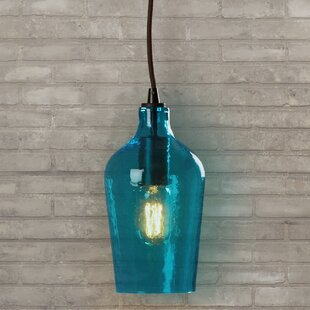 Blue shade pendants youll love wayfair save to idea board mozeypictures Gallery