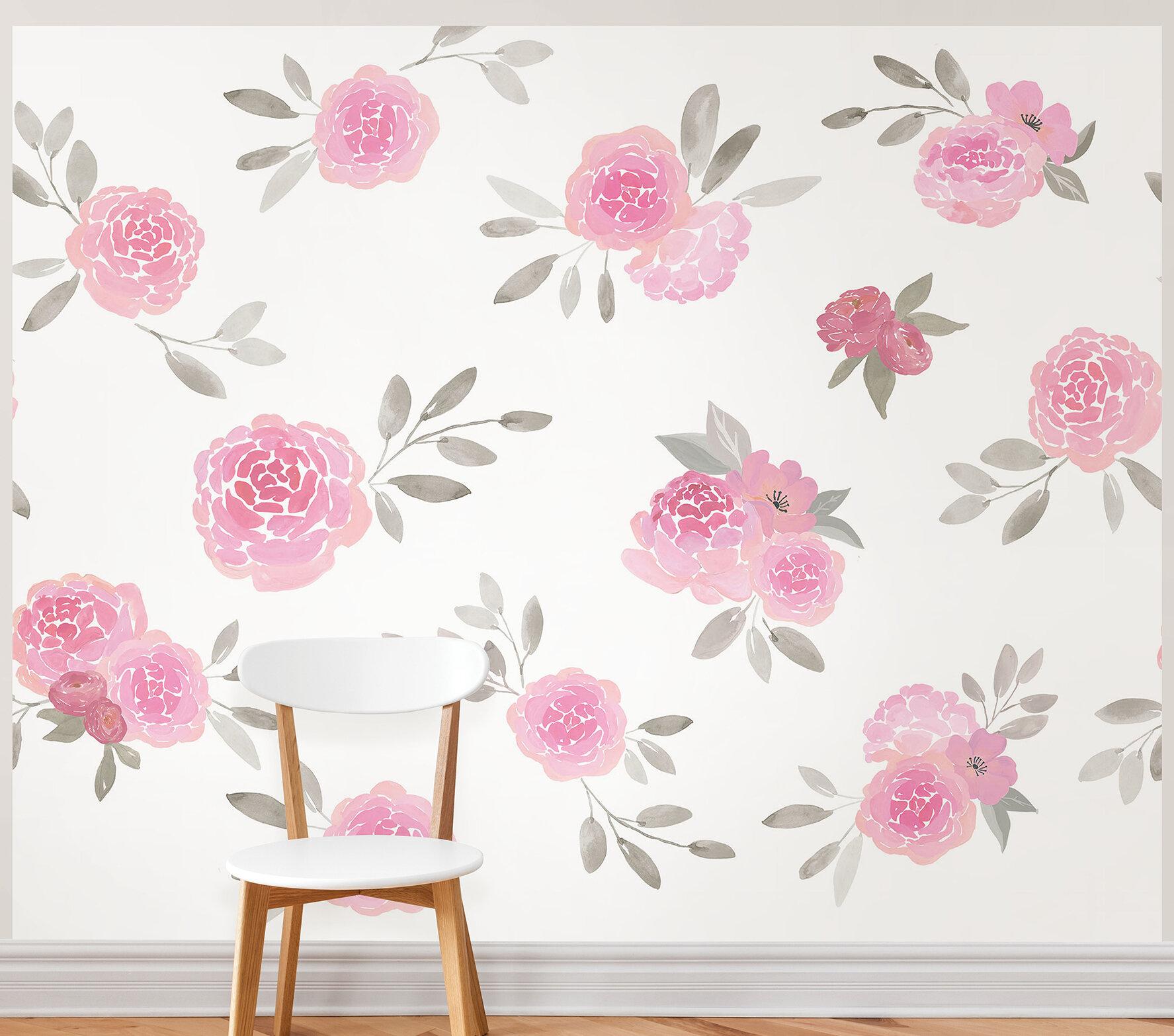 Harriet Bee Allmon Rosie L And Stick 9 83 X 94 W Wall Mural Wayfair