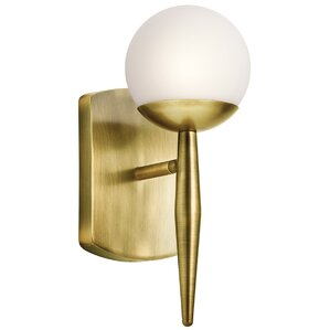 Mahaffey 1 Light Wall Sconce