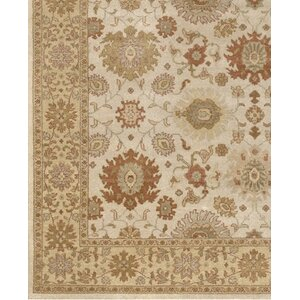 Zambrano Hand Knotted Wool Area Rug