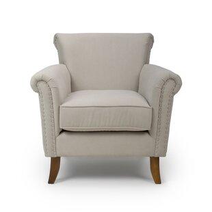 Cream Studded Armchair Wayfair Co Uk