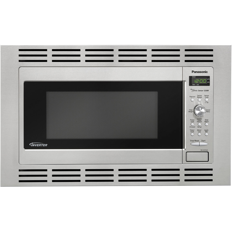 Panasonic 1 2 Cu Ft Microwave 27 Stainless Steel Trim Kit Reviews Wayfair