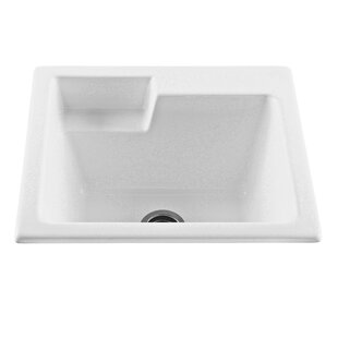 25 X 22 Drop In Undermount Laundry Sink