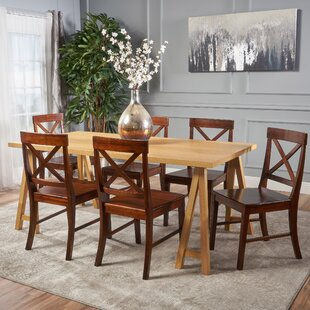 Williamsville 7 Piece Solid Wood Dining Set