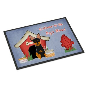 Dog House English Toy Terrier Doormat