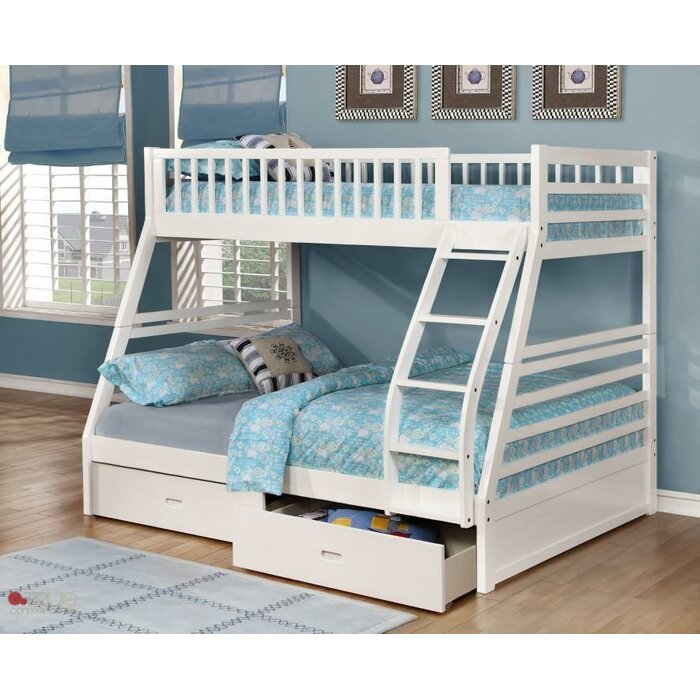 loft triology blake beds full over corner bunk twin bed staircase with