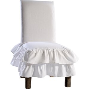 Gayle Parson Chair Skirted Slipcover
