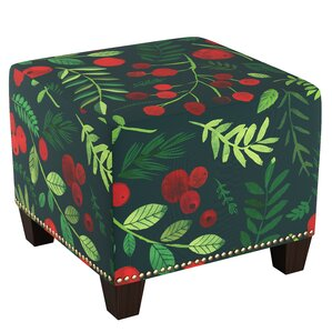Readington Nail Button Ottoman by August Grove