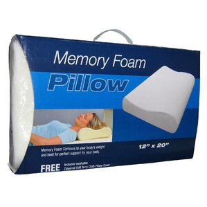 Memory Foam Pillow by Linen Depot Direct