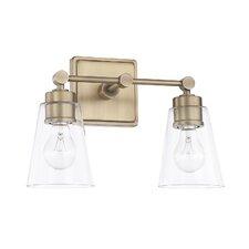 Grant 2-Light Vanity Light