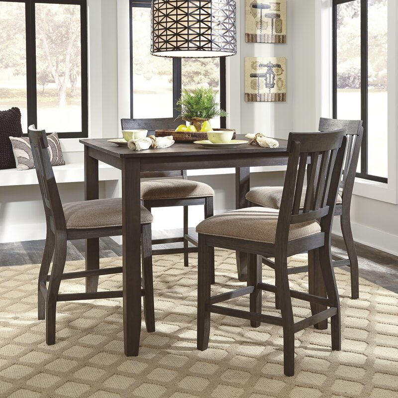 Attractive Rainier Counter Height Dining Table