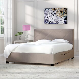 Modern Contemporary Queen Bed Frame With Drawers Allmodern