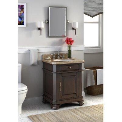 """Bathroom Vanity Sets lanza perkin 28"""" single bathroom vanity set with mirror & reviews"""