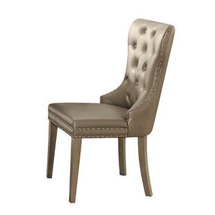Sandusky Upholstered Dining Chair (Set of 2)