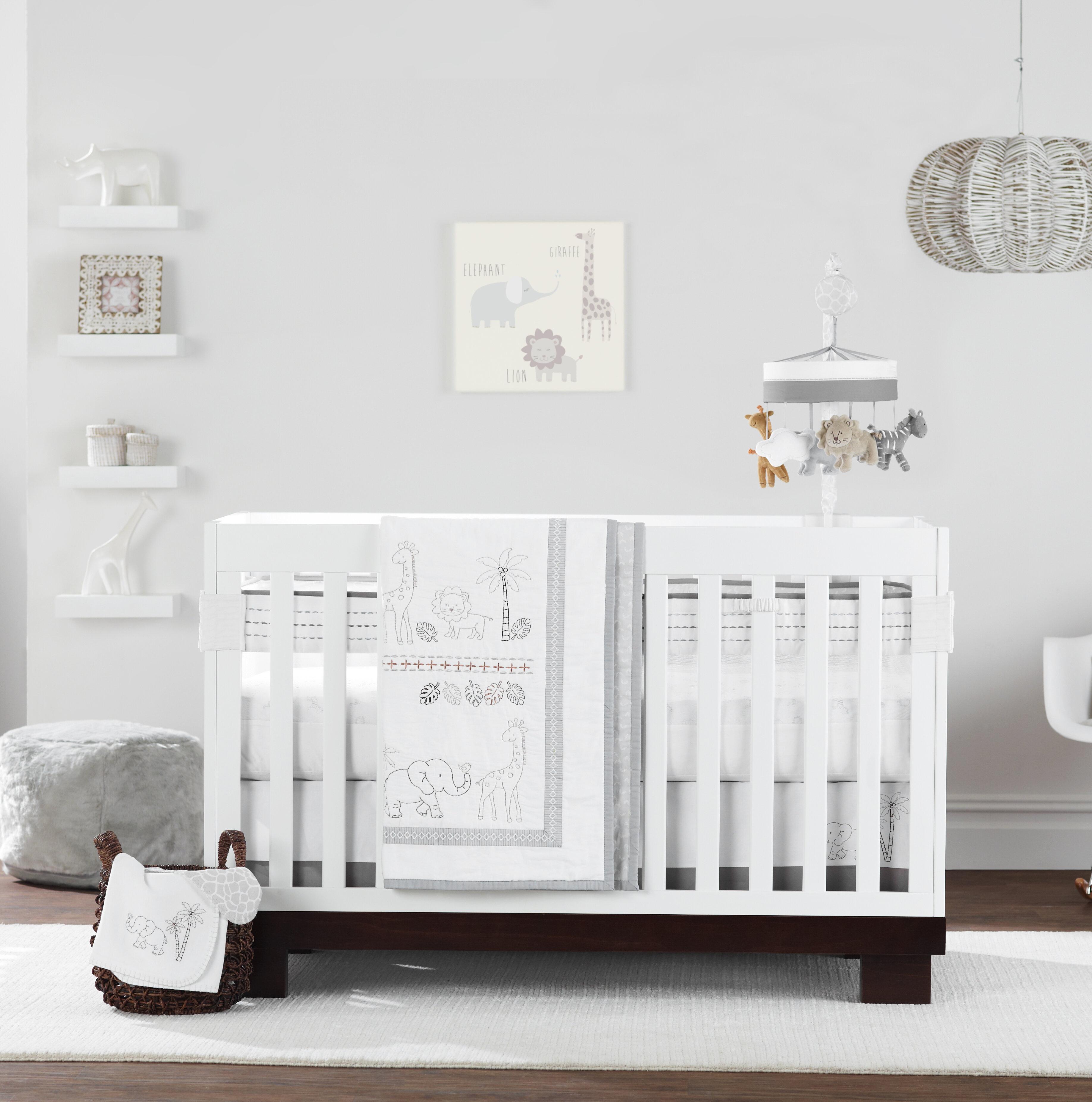 Ensembles De Literie Pour Lits De Bebe Couleur Blanc Wayfair Ca