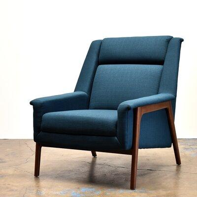 Joselyn Armchair Corrigan Studio Upholstery: Azure