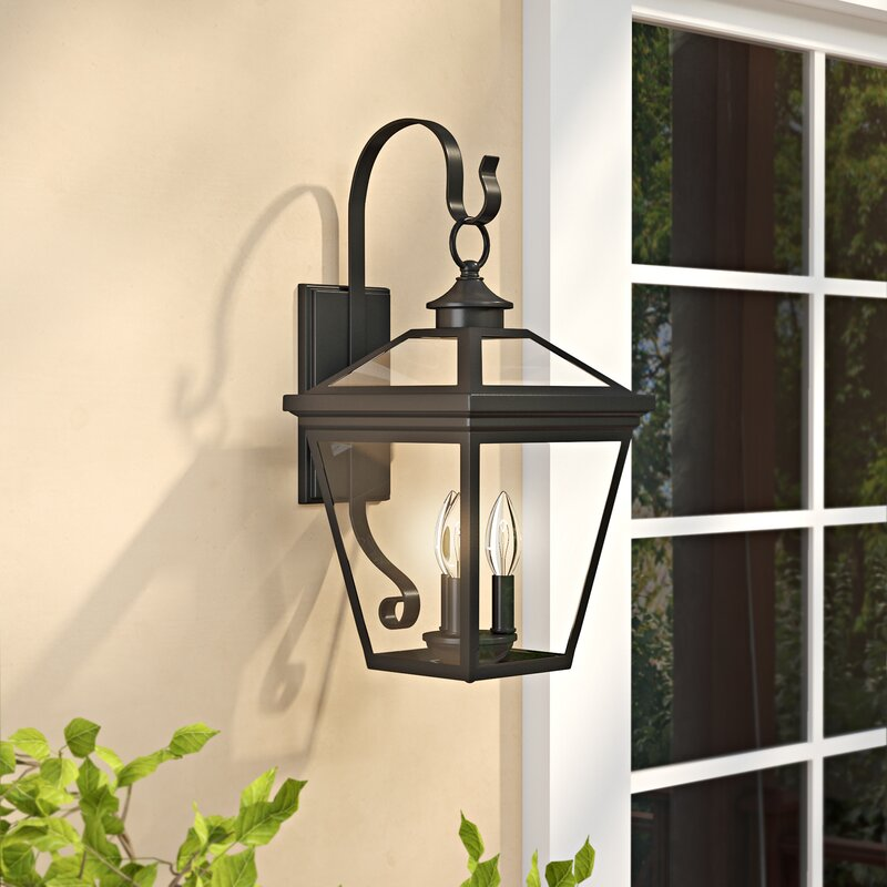 Outdoor Lighting Company: Darby Home Co Coleg 3-Light Outdoor Wall Lantern & Reviews