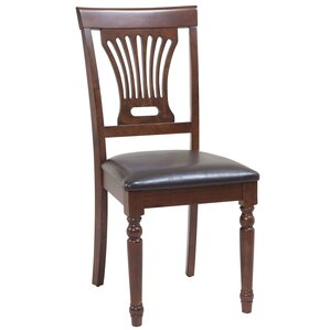 Arrow Solid Wood Dining Chair by Rosecliff Heights
