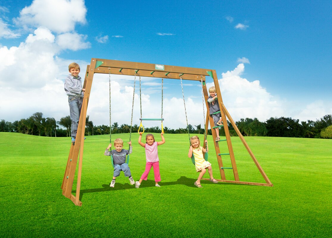 Creative Playthings Classic Top Ladder Swing Set Amp Reviews