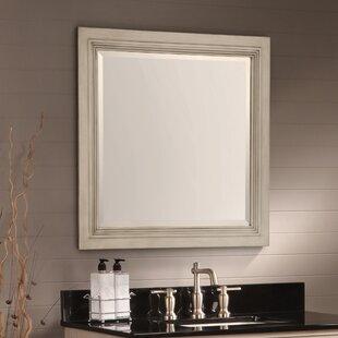 Ulrich Square Wood Bathroom Mirror