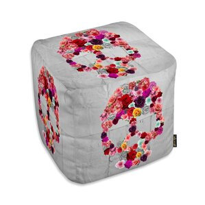 Prudhoe Bed of Roses Ottoman by Mercer41