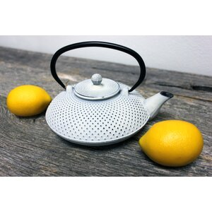 Dot 84 qt. Cast Iron Teapot
