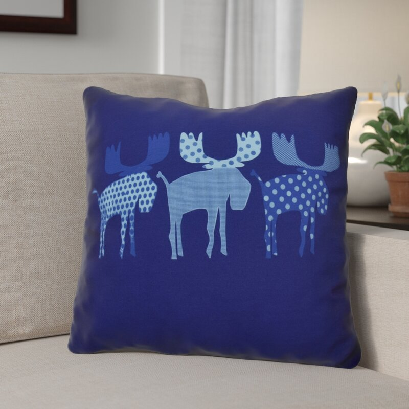 The Holiday Aisle Christmas Decorative Holiday Animal Print Outdoor Mesmerizing Outdoor Decorative Christmas Pillows
