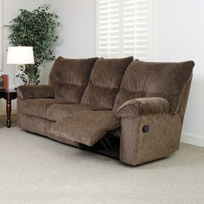 Double Reclining Sofa by S..