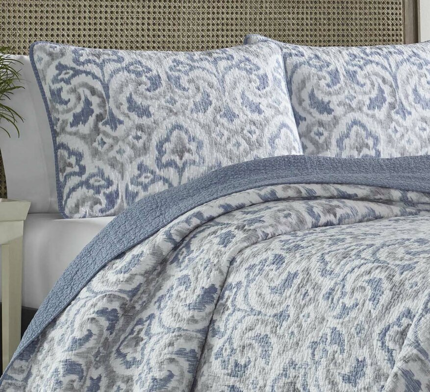 Tommy Bahama Bedding Cape Verde Reversible Quilt Set By