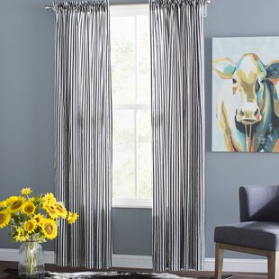 Striped Curtains Drapes Youll Love Wayfair
