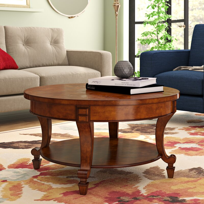 Three Posts Sennett Coffee Table With Storage Amp Reviews