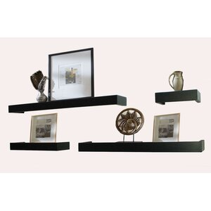 4 Piece Bathroom Shelf Set
