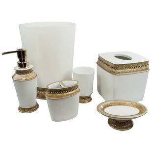 gold bathroom accessories you 39 ll love wayfair. Black Bedroom Furniture Sets. Home Design Ideas