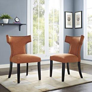 Burnt Orange Dining Chair | Wayfair