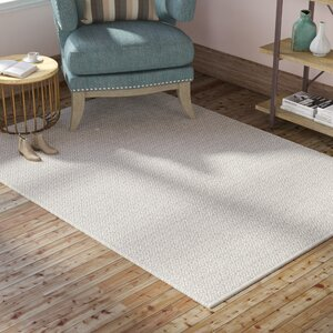 Oxbow Hand-Woven Ivory/Gray Area Rug
