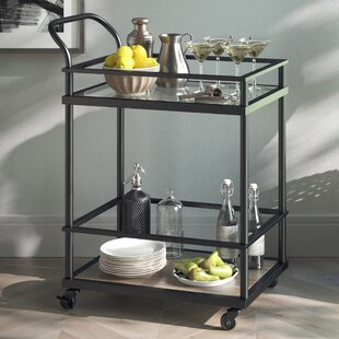 Superbe Damari Kitchen Bar Cart