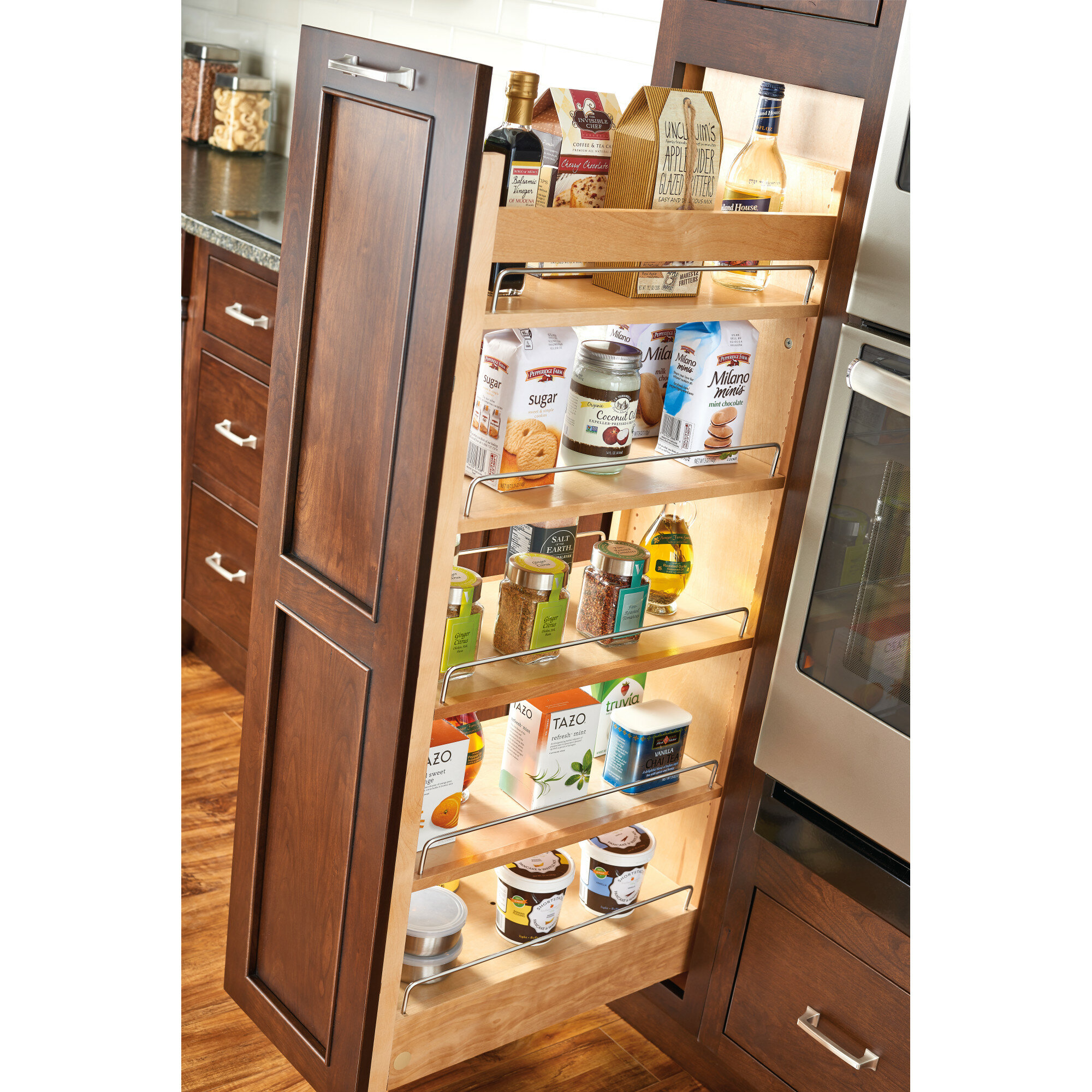 Cabinet Pull Out Shelves Kitchen Pantry Storage: Kitchen Pantry Cabinet With Pull Out Shelves