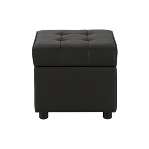Littrell Square Storage Ottoman by Wade Logan