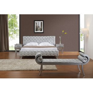 Gisela Upholstered Platform Bed by House of Hampton