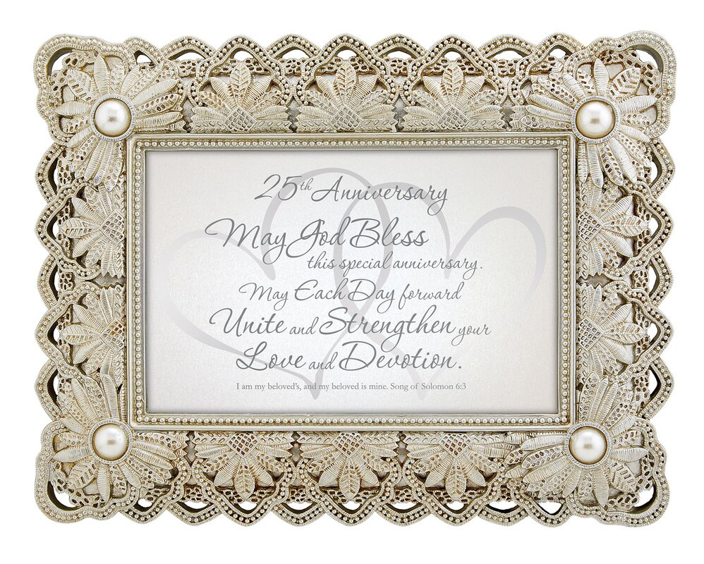 25th Anniversary Song Of Solomon Picture Frame