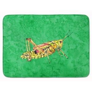 Grasshopper Memory Foam Bath Rug