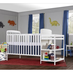 Amazing Full Size 4 In 1 Convertible 2 Piece Crib Set