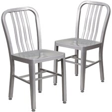 Metal Dining Chairs modern metal dining chairs | allmodern