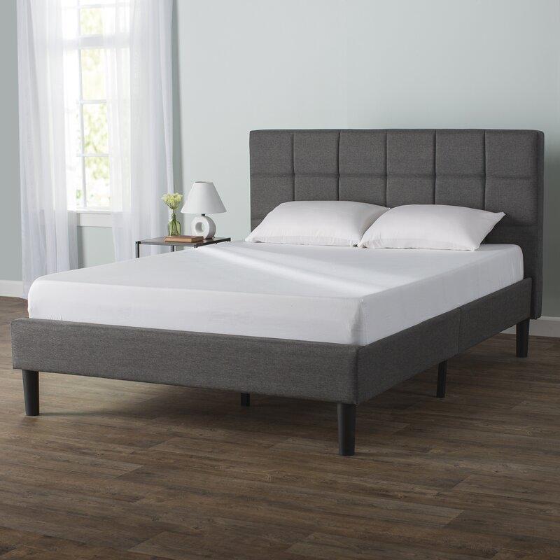 Zipcode Design Colby Upholstered Platform Bed Reviews Wayfair