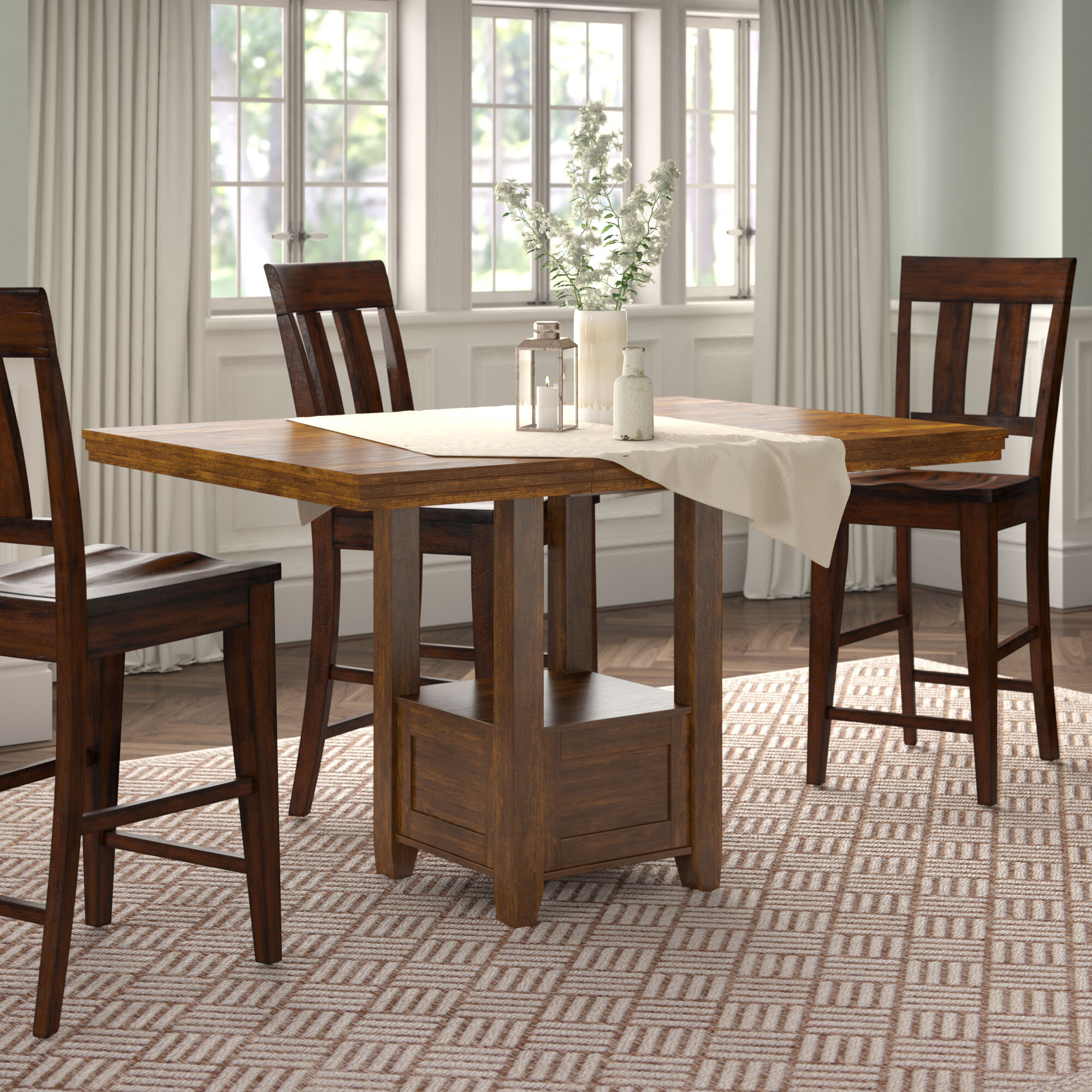 Phenomenal 60 Inch Counter Height Table Wayfair Home Interior And Landscaping Ferensignezvosmurscom