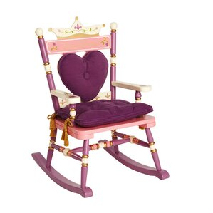 Princess Rock A Buddies Royal Kids Rocking Chair by Levels of Discovery